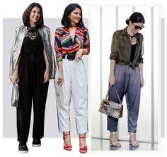 Alice Ferraz e a nova tendência: Calça Carrot. Ela é uma ótima forma de trazer a tendência da cintura marcada à tona. Se muda o modelo do cinto e da blusa, você simplesmente transforma toda uma produção.