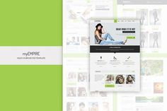 Empire - Business, Portfolio, Shop PSD by BuddhaThemes on Envato Elements Ecommerce Template, Psd Templates, Web Ui Design, Designs To Draw, Typography, Branding, Graphics, Business, Shopping