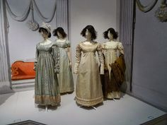 Clothing 1800: Mr Darcy meets Eline Vere ... and we've met them!