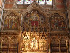 Keble College chapel High Altar