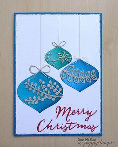 Dazzling Ornaments  by Sue McRae  - poppystamps