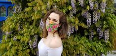 Face Mask Handmade from Cotton and 200 Egyptian Thread Count Cotton. Best Face Mask, Homemade Face Masks, Golf Fashion, Timeless Elegance, Fashion Face Mask, Mask Making, Spring Collection, Go Shopping, Pretty In Pink