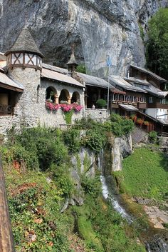 St. Beatus Caves, Interlaken, Switzerland - by vnandigam