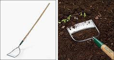 Lee Valley Dutch Hoe - Gardening Lee Valley, Hoe, Wood Turning, Garden Beds, Garden Tools, Dutch, Garden Design, Gardening, Gifts