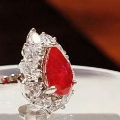 Tikka Jewelry, Beaded Jewelry, Silver Jewelry, Gold Finger Rings, Gemstone Rings, Silver Rings, Swarovski Ring, Swarovski Stones, Luxury Engagement Rings
