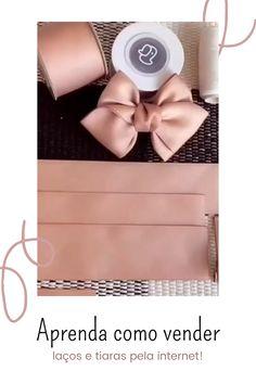 Diy Hair Scrunchies, Diy Hair Bows, Handmade Hair Bows, Making Hair Bows, Diy Crafts For Gifts, Diy Headband, Diy Ribbon, Diy Hair Accessories, Baby Bows