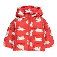 Hubert Swan Hooded Down Jacket-product