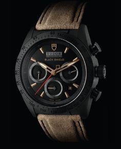 Fastrider Black Shield : la première montre en céramique pour Tudor