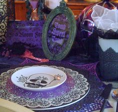 Candlelightsupper Style Your Table: Day of the Dead = Dia de Los Muertos Tablescape