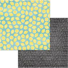 "BoBunny Summer Mood Fresh Squeezed 12x12"" www.papercrafts.ch"