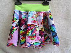 Detské oblečenie - Sukňa motýle - 8260774_