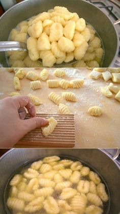 Картофельные ньокки Garlic Recipes, Pasta Recipes, Chicken Recipes, Cooking Recipes, Healthy Recipes, Best Italian Meatball Recipe, Italian Recipes, Italian Foods, Creamy Salmon Pasta
