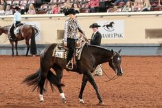 Bestseatnthehouse and Deanna Green were the best in western pleasure | #AQHYAWorld #GetThatGlobe