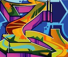 """""""Graffiti L"""" by Mauricio Carrasco Graffiti Pictures, Graffiti Artwork, Graffiti Wallpaper, Graffiti Styles, Art Pictures, Graffiti Lettering Fonts, Graffiti Writing, Graffiti Tagging, Graffiti Alphabet"""