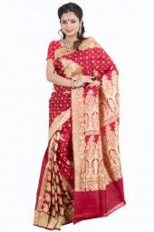 Banarasi Silk red