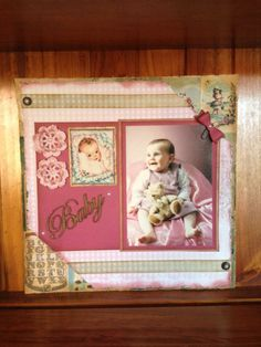 All Kaszazz - 12 x 12 Layout using the Early Years Collection