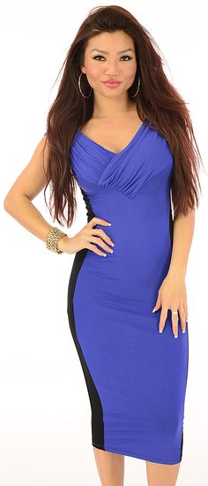 Trendsetter (Blue)-Sexy Snob - Hot and Elegant clothes at great prices