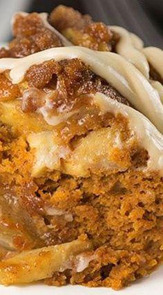 Pumpkin Apple Spice Cake