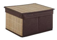 AWD Interior Bambus 02170802 - Opinie i atrakcyjne ceny na Ceneo. Outdoor Furniture, Outdoor Decor, Outdoor Storage, Ottoman, Boxes, Interior, Home Decor, Bamboo, Crates