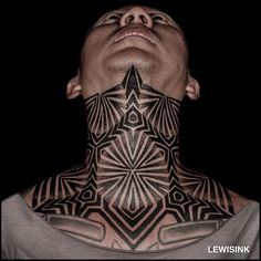 Neck piece by Lewis Ink Small Tats, Tattoos For Women Small, Tattoos For Guys, Unique Tattoos, Beautiful Tattoos, Symbolic Tattoos, Throat Tattoo, Tattoo Designs, Tattoo Hals