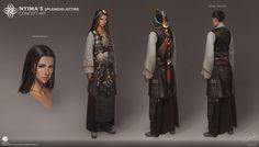 ArtStation - Nyima's Splendid attire, G-host Lee
