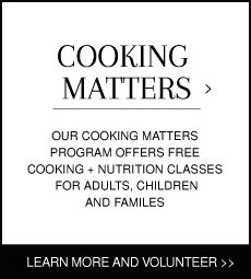 Cooking Class Volunteers | 18th Street