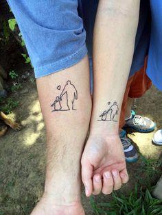 dad memorial tattoos for daughters Daddy Daughter Tattoos, Daddy Tattoos, Father Tattoos, Family Tattoos, Tattoos For Kids, Friend Tattoos, Small Tattoos, Tattoos For Women, Dad Tattoos For Daughters