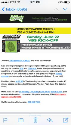Mobberly VBS Leader!