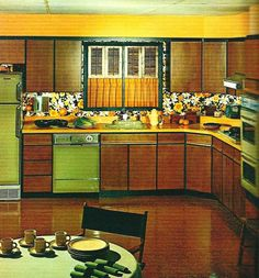 1970s retro vintage kitchen vintage kitchen pinterest retro 1970s and kitchens - 1970s Kitchen