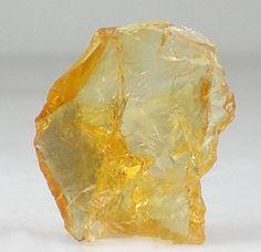 Gemmy Golden Citrine Raw Crystal Gemstone by milminedesign, via Flickr