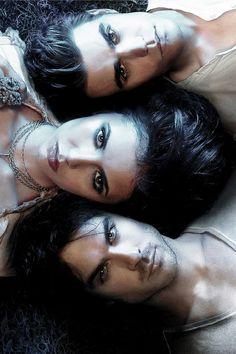 Elena, Damon & Stefan