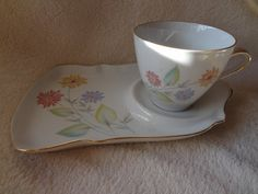 Your place to buy and sell all things handmade Snack Trays, Tea Time Snacks, Thing 1, Bright Flowers, I Love Coffee, Bavaria, Teacup, Cup And Saucer, Tea Pots