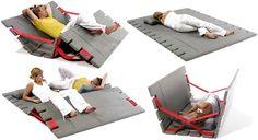 Sasan Magic Carpet Doubles As Versatile Folding Furniture