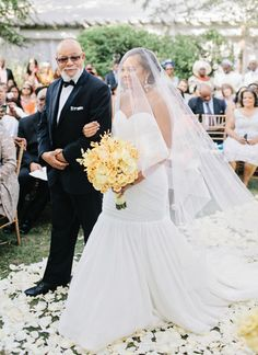 walking down the aisle with Dad | Amy Arrington