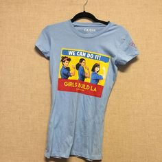 Guess feminist graphic t Never worn Guess Tops Tees - Short Sleeve
