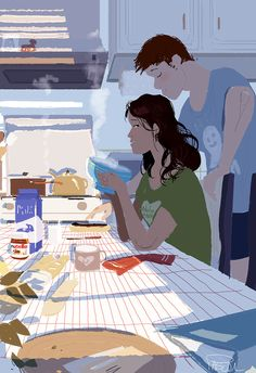 """""""Breakfast Love"""" by Pascal Campion 