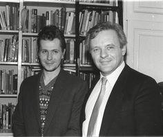 Gary Oldman and Anthony Hopkins