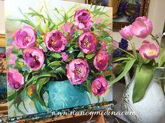 http://www.nancymedina.com/available-paintings/pink-blush-tulips