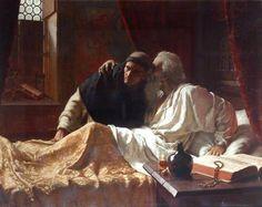 Edmund Blair Leighton Paintings   Edmund Blair Leighton - The Secret 1885