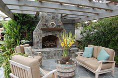 Outside Fireplaces Designs Outdoor Fireplace Design Ideas Patio Pergola