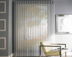 When the Luxaflex Luminette Privacy Sheers are open, the sheer vertical facings provide daytime privacy and maintains your view. With the vanes closed, night time privacy is assured.