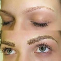 """35 Likes, 2 Comments - A Touch Of Color Makeup & Hair (@atouchofcolormakeup) on Instagram: """"Microblading!!! We are offering $100 off any booking for new clients! Our clients are loving their…"""""""