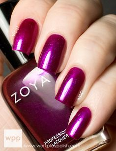 Zoya Mason from the Fall 2013 Satins Collection