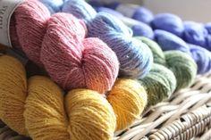 Harrisville Designs - Silk & Wool Knitting Yarn ~ DK weight