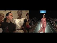 Marco Marcu Spring 2011 at Couture Fashion Week #newyork #fashion #video