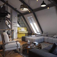 "Polubienia: 532, komentarze: 5 – Design + Magazine (@designplusmag) na Instagramie: ""Питер-Париж-Небеса by PROforma #interiorinspo #interiordesign #interior #interiordesigner…"""