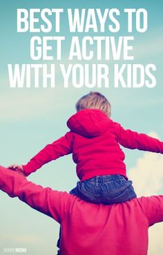 Make exercise a family affair with these creative ways to get active as a family!