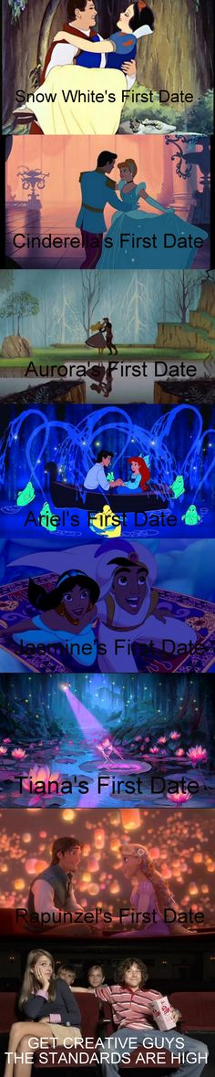 First dates: Disney vs. real life