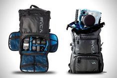 Рюкзак для фотокамеры RVCA Zak Noyle Для занятий спортивной фотографией требуется очень разнообразная экипировка — особенно для таких людей, как знаменитый фотограф серфинга Зак Нойл. И это делает его отличным кандидатом на создание прочного приключенческого рюк
