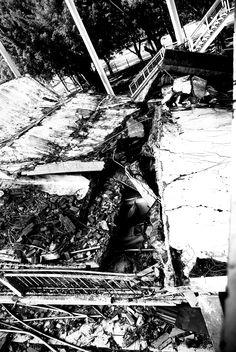 921地震  斷壁殘垣